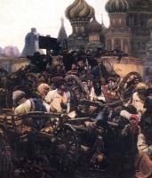 Василий Иванович Суриков. Утро стрелецкой казни. Фрагмент