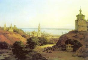 Никанор Григорьевич Чернецов. Вид Юрьевца Повольского