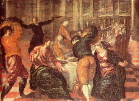 Эль Греко (Доменико Теотокопули). Свадьба в Кане Галилейской