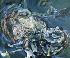 Oskar Kokoschka. Bride of the wind