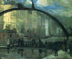 Уильям Джеймс Глакенс. Высокий мост