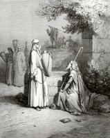 Поль Гюстав Доре. Иллюстрации к Библии: Елиезер и Ревекка