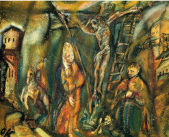 Oskar Kokoschka. The crucifixion