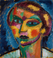 Alexey Georgievich Yavlensky. Head of a woman