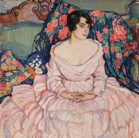 Елена Андреевна Киселева. Портрет дамы (портрет Любови Бродской)