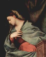 Тициан Вечеллио. Благовещение