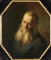 Ян Ливенс. Портрет пожилого мужчины с бородой
