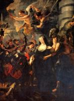 Peter Paul Rubens. The flight from Blois