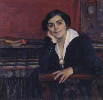 Mikhail Vasilyevich Nesterov. Portrait Of A. M. Shhepkinoj