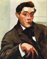 Макс Вебер. Портрет мужчины