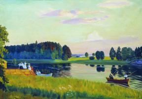 Борис Михайлович Кустодиев. Конкола (Финляндия)