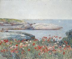Childe Hassam. Poppies, island of shoals