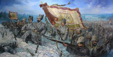 """Владимир Григорьевич Сайко. """" Сибирские стрелки"""""""