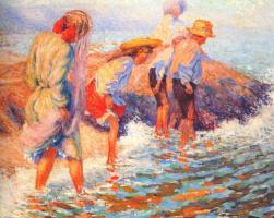 Уильям Генри Клапп. Дети в болоте