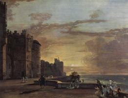 Пол Сэндби. Виндзорский замок, северо-восточная терраса
