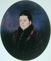 Николай Александрович Ярошенко. «Женский портрет» 1880