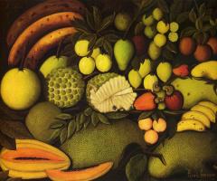 Анри Руссо. Натюрморт с экзотическими фруктами