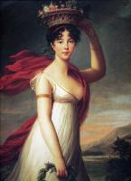 Элизабет Виже-Лебрен. Портрет дочери художницы Жанны-Жюли в образе Флоры