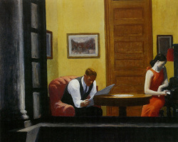 Edward Hopper. Room in New York