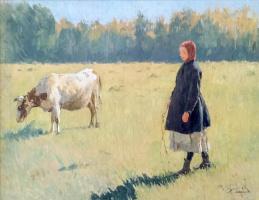 Иван Семенович Куликов. Юная пастушка