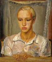 Борис Дмитриевич Григорьев. Портрет Кирилла, сына художника