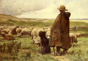 Жюльен Дюпре. Пастух