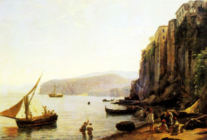 Sylvester Feodosievich Shchedrin. View of Sorrento near Naples