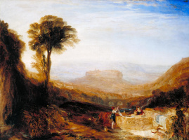 Джозеф Мэллорд Уильям Тёрнер. Вид Орвьето, написанный в Риме