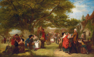 English games a hundred years ago. Private collection