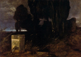 Arnold Böcklin. Night