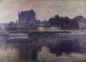 Клод Моне. Церковь Вернона в тумане