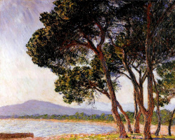 Claude Monet. The coast in Juan-Les-Pins
