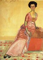 Фердинанд Ходлер. Девушка в розовом