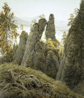 Каспар Давид Фридрих. Скальные ворота в Нейратене