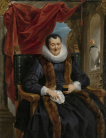 Якоб Йорданс. Портрет Магдалины де Кейпер