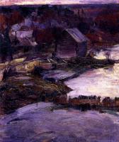 Абрам Ефимович Архипов. Вечер . 1913-1914