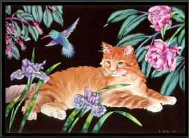 Джуди Вайс. Рыжий кот