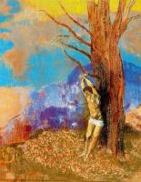 Одилон Редон. Привязанный к дереву