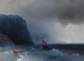 Ivan Aivazovsky. Survivors