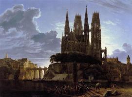Карл-Фридрих Шинкель. Средневековый город на воде