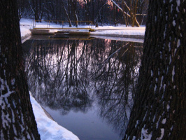 "Алексей Иванович Гришанков (Alegri). ""Зимнее озеро"""