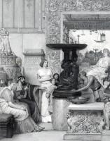 Лоуренс Альма-Тадема. Галерея скульптур Августа Бланкарта