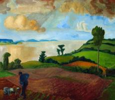 Эрих Хеккель. Осенний пейзаж