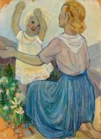Туве Янссон. Мать и дитя