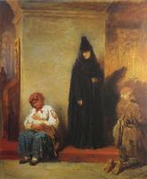 Петр Петрович Соколов. В церкви. 1866