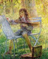 Анри Лебаск. Юный живописец