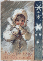 Елизавета Меркурьевна Бём (Эндаурова). Мороз не велик, да стоять не велит!