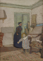 Jean Edouard Vuillard. The First Steps