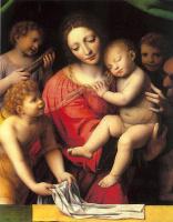 Бернардино Луини. Богородица с младенцем