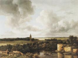 Якоб Исаакс ван Рейсдал. Пейзаж